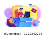e sport gamer live streaming... | Shutterstock .eps vector #1222242238