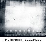 film negatives frame  copy space | Shutterstock . vector #122224282