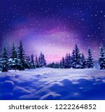 Beautiful Winter Night ...