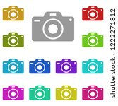 camera icon in multi color....