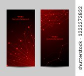 set of vertical banners.... | Shutterstock .eps vector #1222272832