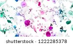 wide seamless floral... | Shutterstock .eps vector #1222285378