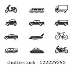 transportation icon series in...