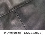 an old jacket made of genuine... | Shutterstock . vector #1222322878