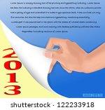 vector eps10   christmas new...   Shutterstock .eps vector #122233918
