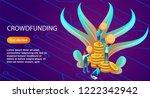 isometric illustration of a...   Shutterstock .eps vector #1222342942