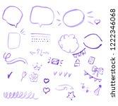for social network  poster ... | Shutterstock .eps vector #1222346068