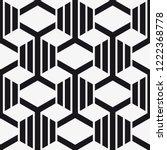 vector seamless pattern. modern ... | Shutterstock .eps vector #1222368778