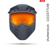 Paintball Mask With Goggles....