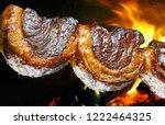 picanha  traditional brazilian... | Shutterstock . vector #1222464325