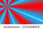 diagonal luminosity blue and red   Shutterstock . vector #1222468555