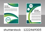 business brochure vector design.... | Shutterstock .eps vector #1222469305
