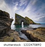 drangarnir is the collective... | Shutterstock . vector #1222470892