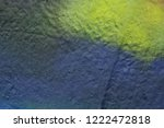 colored paint stains on the...   Shutterstock . vector #1222472818