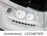 front light of a car  bus or... | Shutterstock . vector #1222487305
