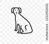 west highland white terrier dog ... | Shutterstock .eps vector #1222502032
