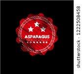 asparagus premium quality... | Shutterstock .eps vector #1222508458