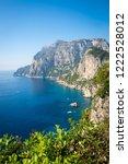 picturesque postcard view of...   Shutterstock . vector #1222528012