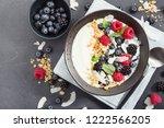 Yogurt Bowl With Fresh Berries...