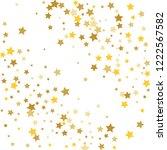 colorful stars confetti ... | Shutterstock .eps vector #1222567582