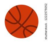 basketball sport ball icon  ... | Shutterstock .eps vector #1222575052