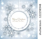 shiny holiday background with... | Shutterstock . vector #122258548