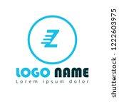 letter z logo concept. designed ...