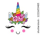 lovely vector drawing of the... | Shutterstock .eps vector #1222655485
