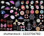 big set of very different...   Shutterstock .eps vector #1222706782