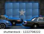 bright digital display somalia... | Shutterstock . vector #1222708222