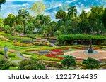 Mae Fah Luang Flower Garden In ...
