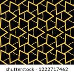 modern geometric ornament.... | Shutterstock .eps vector #1222717462