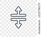split vertical concept vector...