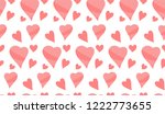 heart and love pattern for a... | Shutterstock .eps vector #1222773655