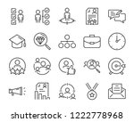 set of job seach icons  such as ... | Shutterstock .eps vector #1222778968