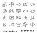set of send icons  such as... | Shutterstock .eps vector #1222779028