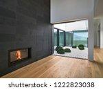 interiors shots of a modern... | Shutterstock . vector #1222823038