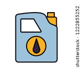 gallon of gasoline icon | Shutterstock .eps vector #1222855252