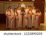 vaxjo   sweden   december 13... | Shutterstock . vector #1222890205