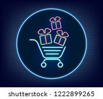 cyber monday sale abstract... | Shutterstock .eps vector #1222899265