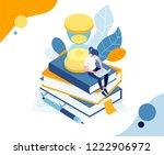 vector illustration business... | Shutterstock .eps vector #1222906972