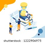 vector illustration business... | Shutterstock .eps vector #1222906975