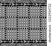 tribal apache style vector... | Shutterstock .eps vector #1222934722