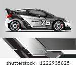 rally livery design. racing car ...   Shutterstock .eps vector #1222935625