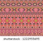 peruvian american indian... | Shutterstock .eps vector #1222955695