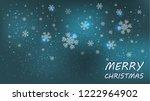 merry christmas beautiful...   Shutterstock .eps vector #1222964902