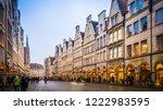 muenster  rhine westphalia  ... | Shutterstock . vector #1222983595