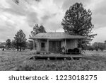 oct 8  2018  chama new mexico ... | Shutterstock . vector #1223018275