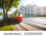 famous wiener ringstrasse with... | Shutterstock . vector #1223033245