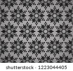 abstract geometric pattern with ... | Shutterstock .eps vector #1223044405